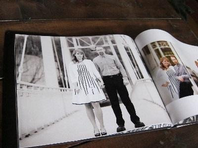 printed wedding album